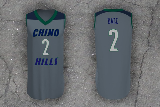"""6a8c938b6 Chino Hills H.S. """"Ball"""" #2   Jersey Haven"""