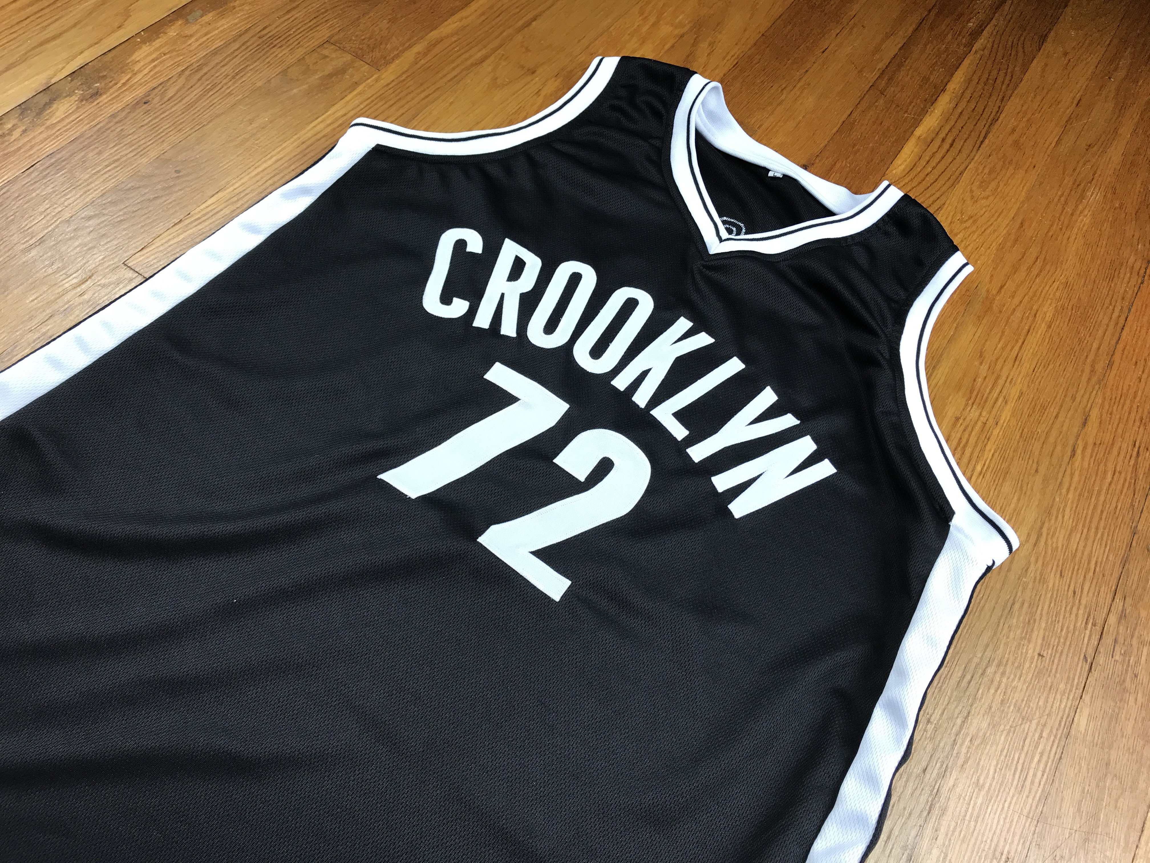 "e75372a20 Jersey Haven ""Crooklyn"" Remix Basketball Jersey 